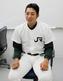 インタビューに答える東條大樹(JR東日本)投手