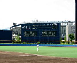 松山中央公園サブ野球場(マドンナスタジアム)