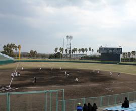 徳島県鳴門総合運動公園野球場(オロナミンC球場)