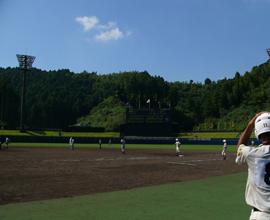 徳島県南部健康運動公園野球場(アグリあなんスタジアム)