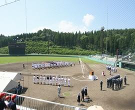 野田村総合運動公園野球場(ライジングサンスタジアム)