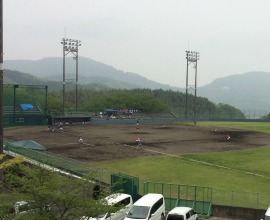 江北町営花山球場