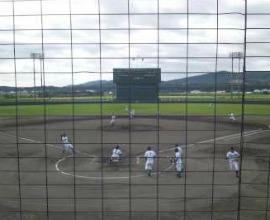 栗山町民球場