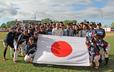 在モントリオール日本国総領事館から倉光総領事はじめ皆様が応援に駆けつけて下さいました