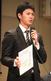 今年2月1日の香川新入団会見でNPB入りへ決意を語る寺田哲也投手