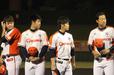 2012年グランドチャンピオンシップで香川と対戦した新潟・寺田哲也(当時・右から2番目)