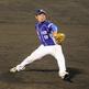 身体をいっぱいに使う徳島・山本 雅士投手の投球フォーム