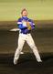 愛媛とのチャンピオンシップ第2戦で最期を締め、雄叫びを上げる徳島・山本 雅士投手