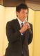 11月11日の中日仮契約会見でNPBへの決意を表明する徳島・山本 雅士投手