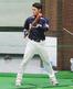 バント練習に取り組む福井ミラクルエレファンツ・森 亮太外野手