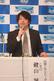 2月25日四国アイランドリーグplus開幕会見で決意を語る鍵山 誠CEO