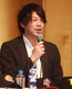 5月11日の北米遠征記者会見で語る四国アイランドリーグplus・鍵山 誠CEO
