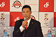 「自分を支えてくれている全ての方々に感謝し、日本中の野球ファンの皆さんのために信濃でプレーをしたい」と熱い思いを語った。