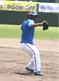 サイドノックで軽快な動きを見せるガブリエル・ガルシア投手