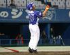9回表二死一塁から代打で登場した徳島インディゴソックス・張 泰山