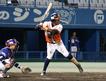 リーグ首位打者にも輝いた愛媛マンダリンパイレーツ4番三塁手のラファエル・ポロ