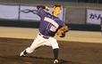 リーグトップの5勝(5月23日現在)を上げている徳島インディゴソックスのエース・松本賢明