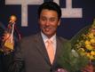2003年、MVPを受賞した時のイ・スンヨプ選手