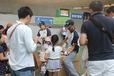 小学生以下の子どもたち全員にライオンズのロゴ入りゴムボールをプレゼント!(埼玉西武ライオンズ)