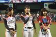 左から谷山 莉奈選手、萱野 未久選手(埼玉アストライア)